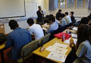 Warnborough College - class at CCCU