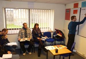 Warnborough College classroom