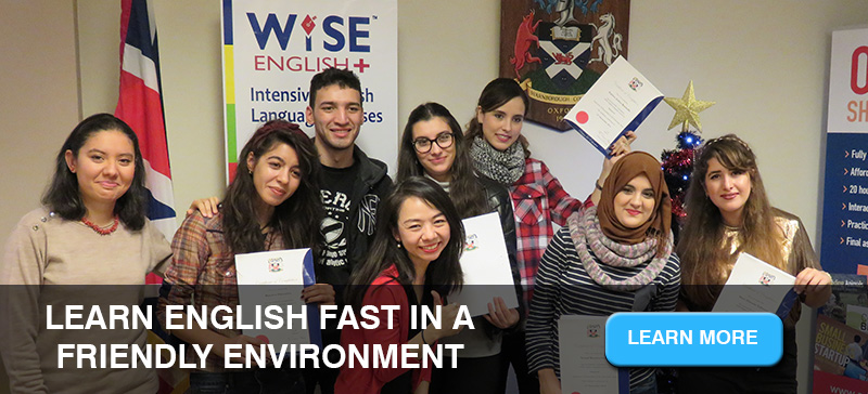 Learn English fast and effectively in England at WISE English