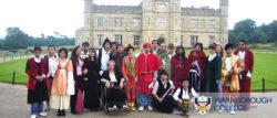Visit to Leeds Castle (in costume!)